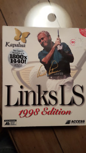 Links LS 1988 Edition Kapalua with Arnold Palmer PC Golf Game
