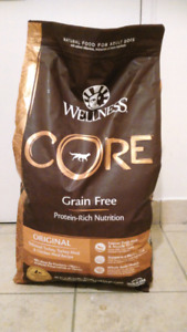 Wellness  Core Grain-Free Adult Dog Food (unopened, in date)