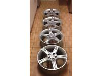 Lexus is200 is300 17 x 4 Alloy wheels just painted 114.3 set refurbished Px is 200 is 300 mazda Px