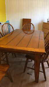Moving! Rustic xl dining table