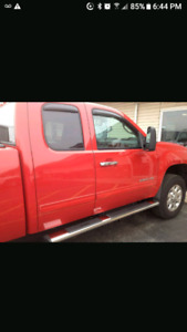 2013 gmc running boards for extended cab