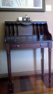 Bombay secrétaire,meuble de travail,table console d'appoint