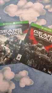 Xbox 1 gears of war 4 and ultimate edition