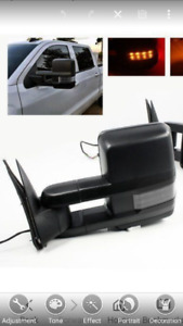 2014 -  2017 Gmc or Chevy tow mirrors w back up light