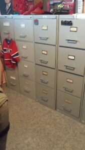 STEEL GRAY FILING CABINETS