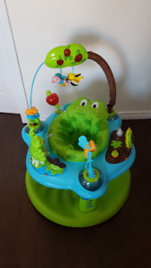 Evenflow ExerSaucer Jump and Learn Frog Activity Center