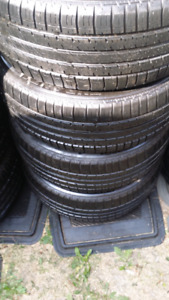 205/55r/16 Bridgestone set of tires nice