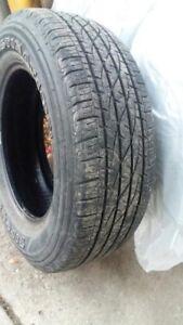 Set of 4 Firestone Destination Tires - P245/65/R17 M+S