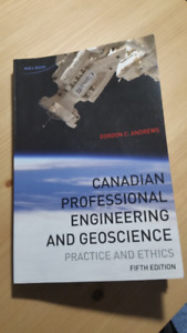 Canadian Professional Engineering and Geoscience Practice and Et