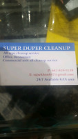Super duper cleanup available