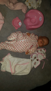 Baby Born and many many doll accesories and clothes