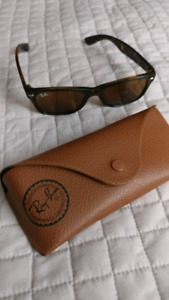 Brown Raybans Authentic