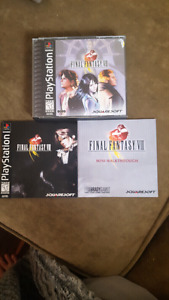 Selling black label final fantasy 8