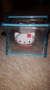 Box of NEW Hello Kitty Holders for books etc