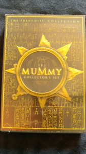 Collectors Edition set of 3 Mummy DVDs