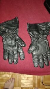 gants de cuir medium