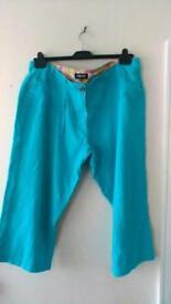 Ladies Crop Trousers