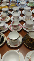 VINTAGE TEACUPS AND SAUCERS …