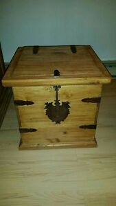 Beautiful Mexican Wood Chest