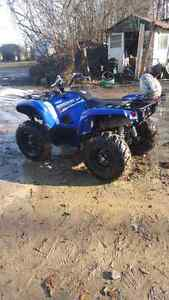 Yamaha grizzly tires and rims