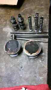 Harley -Davidson  2005 FXDWG used cams and pistons