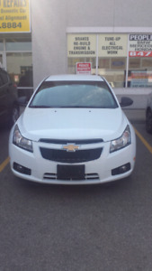 2012 chev cruze..finance available .clean carfroof