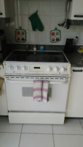 Refrigerator, stove, dishwasher and microwave