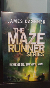 Collection anglaise The Maze Runner (4 tomes)
