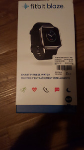 Brand new fitbit blaze small unsealed