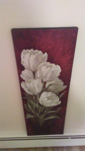 canvas picture in mint condition