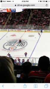 FACE VALUE OILERS TICKETS