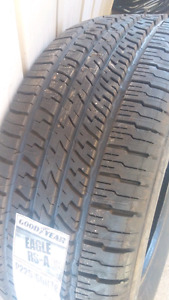 Goodyear eagle rs-a p225/60r16 brand new