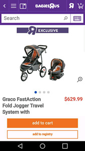 Graco jogging stroller and carseat