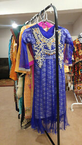 Pakistani, Indian Girls Dresses - Fancy dress for Party / EID