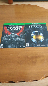 Gears of war et halo