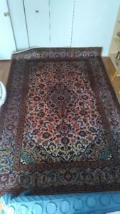 ((ATTENTION))  Persian Rug, Semi-Antique Handmade, 6.8X10 Feet
