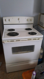 Stove and Portable apt size washer& dryer