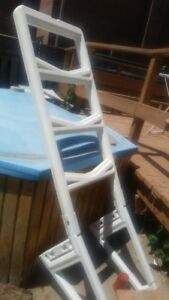 Swimming pool, deck, hot tub for free