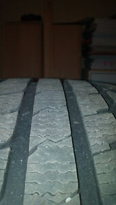 4 pneus hiver 4 winter tires 245 40 18 200$ !!! West Island Greater Montréal image 2