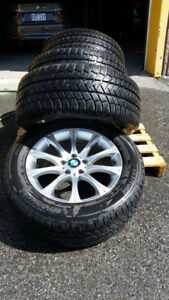 BMW X6 winter tires with mags