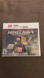 New Nintendo 3DS Minecraft game