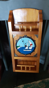 vintage nautical clock