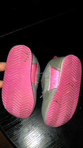 Baby girl sneakers size 4