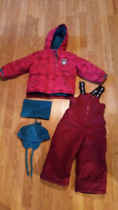habit de neige fille Gusti girl snowsuit size 3