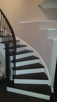 Staircase Renovation (Oak Stair Capping)