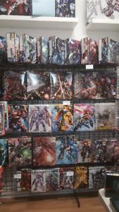 Huge Gundam MG Stock