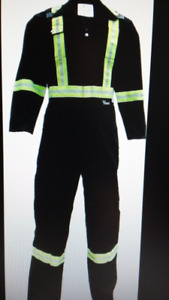 CSA Striped Safety Coveralls