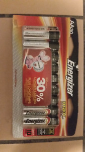 30 AA Batteries - Brand new in package