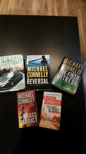 Michael Connelly books - Lincoln Lawyer series