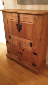 Mexican Wood Cabinet